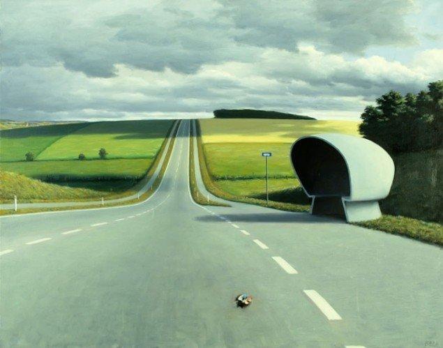 Paul Anker Bech: Hovedvej A14, 1978