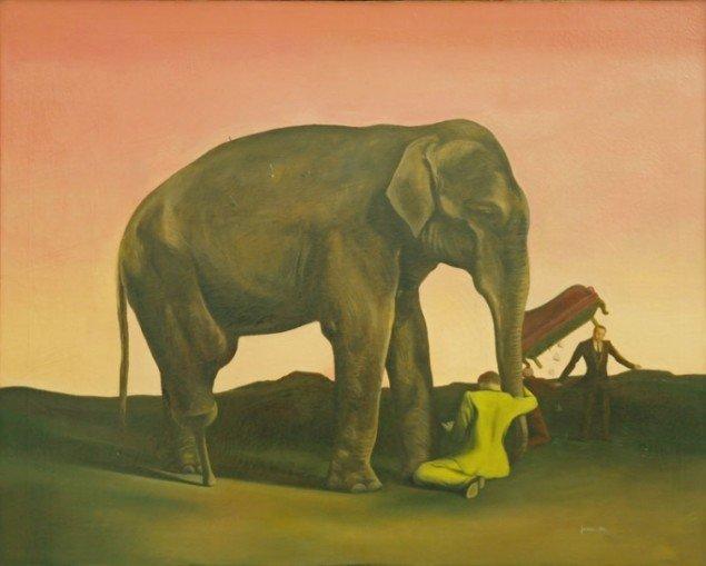 Wilhelm Freddie: Elefantia, 1940.