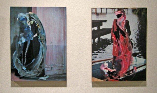 Asbæk havde både store og mindre værker med af Sofie Bird Møller
