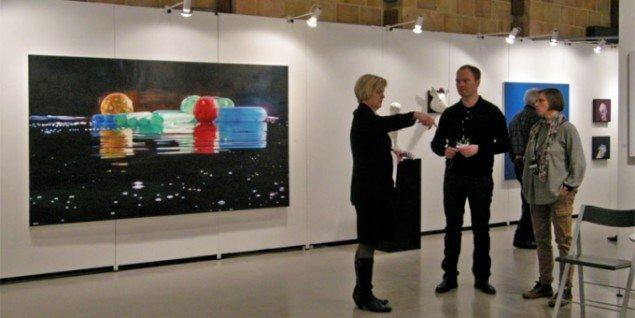 View fra Galleri Franz Pedersen, her maleri af Cameron Rudd