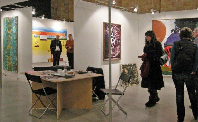 Galleri Bo Bjerggaard præsenterede en række af deres anerkendte kunstnere