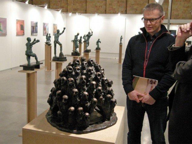 Ottetsen havde adskillige små skulpturer af Bjørn Nørgaard