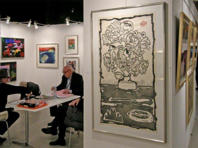 Galerie Leif Jensen har siden 1990 solgt COBRA kunst. Her et tryk af Pierre Alechinsky