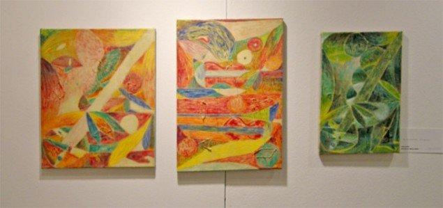 Her malerier af Alexander Tovborg hos Nicolai Wallner