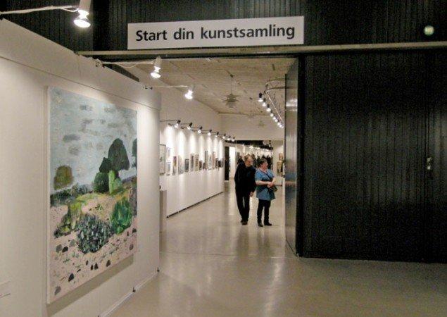 Art Hernings nye messetiltag var udstillingen Start Din Kunstsamling med værker til 2.500 kroner fra alle gallerierne