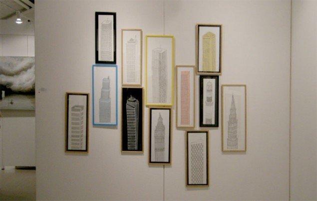 Værker af Daniel Van Der Noon hos Galleri Jules Julian