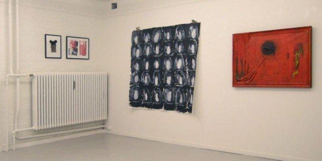 Udstillingsview fra udstillingen på Det Hemmelige Galleri