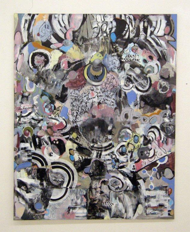Større maleri af Claus Rohland