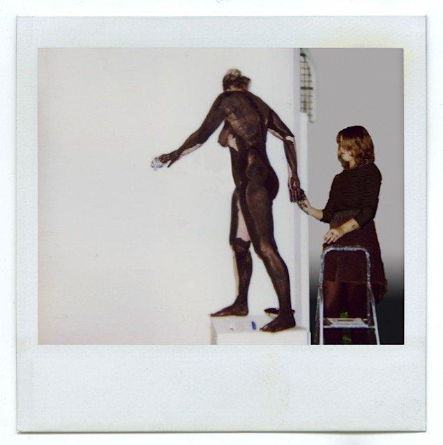 Imprint #3, 2012 Dokumentation af værktilblivelse fra udstilingen FAMA i Nikolaj Kunsthal i København. Pressefoto