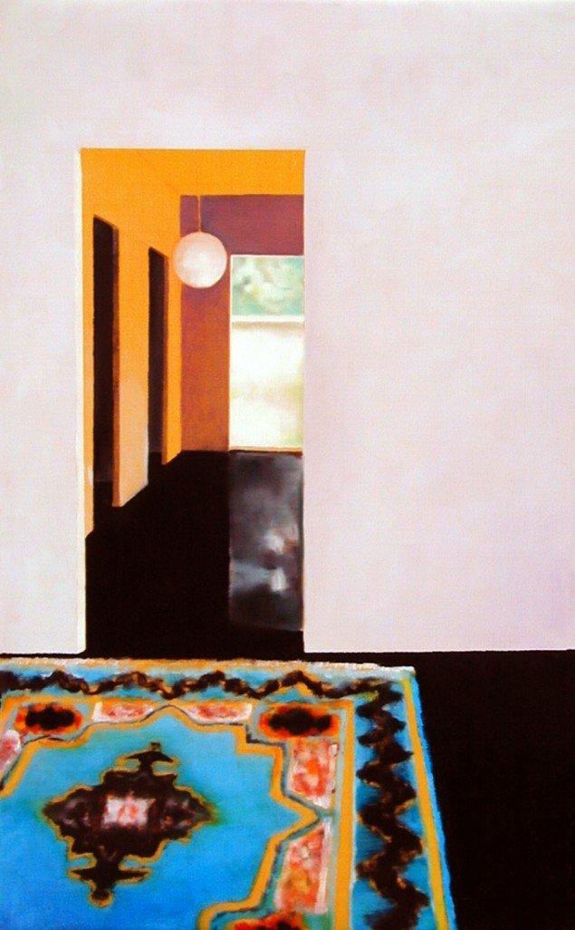 Uden titel, 2005. Olie på lærred, 80x50 cm. Foto: Sune Berg