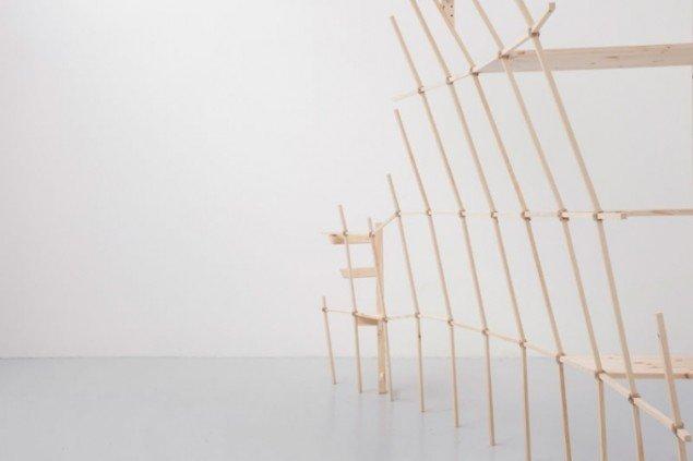 Karin Lind.  Joints and Voids/ Samlinger og tomrum  , 2013 Foto: Vestjyllands Kunstpavillon
