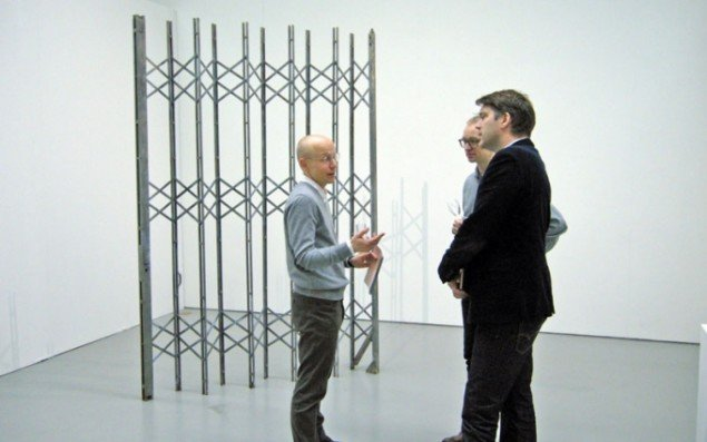 View fra det svenske Galerie Nordenhakes stand.