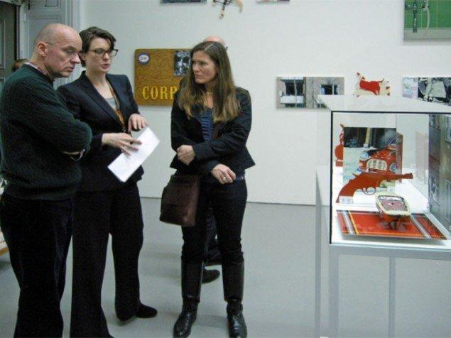 Angelika Knäpper præsenterede en større samling af værker af Martin Wickström.
