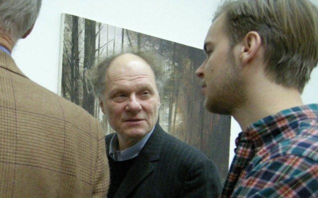 Tidligere direktør på Charlottenborg Bo Nilsson i samtale. Nilsson er nu kunstnerisk direktør for den nybyggede kunsthal Artipelag, som ligger 20 km øst for Stockholm.