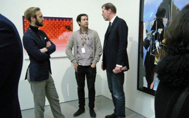 View fra det svenske galleri Christian Larsens stand.