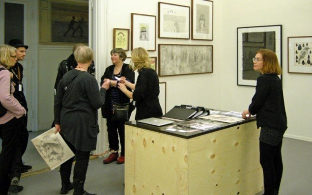 Hos Gallery Steinsland Berliner, som på trods af navnet ligger i Stockholm, kunne man se en stor præsentation af Ragnar Persson. I danmark er Persson repræsenteret af Charlotte Fogh Gallery i Aarhus.