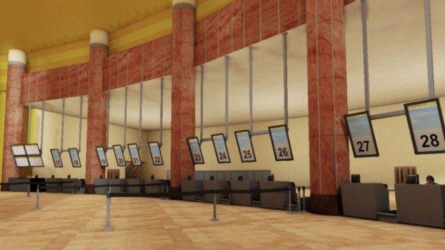 Screenshot fra iPad-spillet Leaving af Thomas J. Papa.