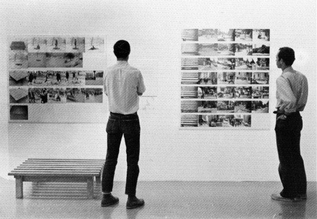 Stig Brøgger, Platformprojekt, 1970 installationsbillede