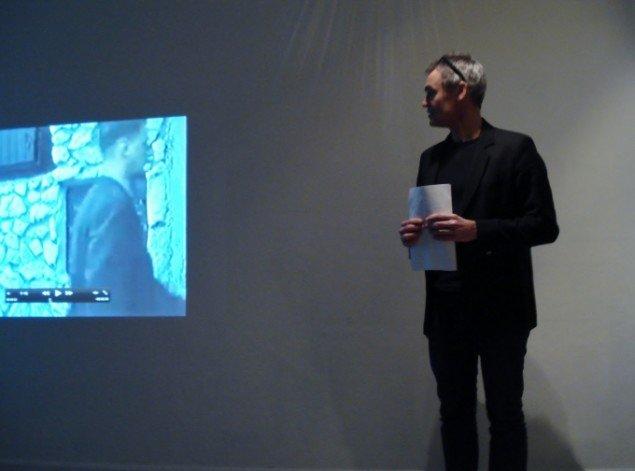Henrik Broch-Lips bød på et oplæg med masser af visuelt materiale. Foto: Sandra M. Nielsen