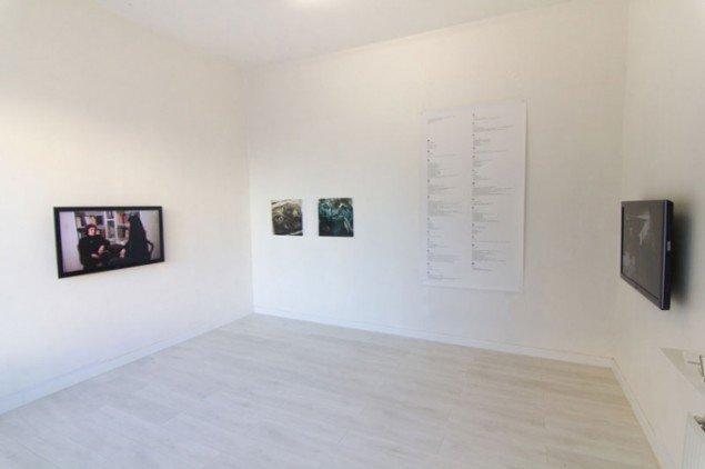 Installationsview fra udstillingen.