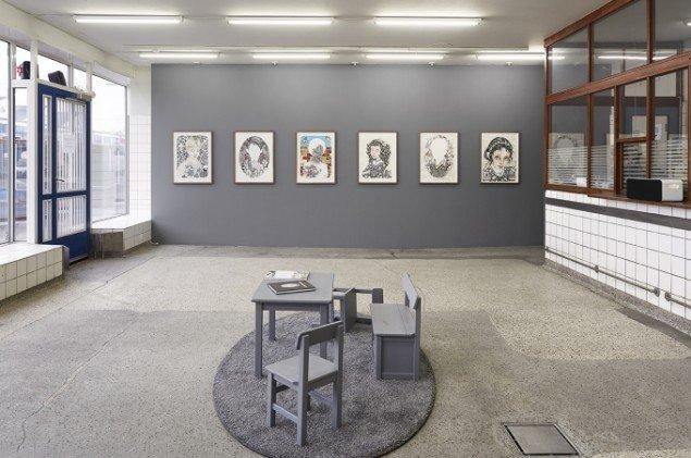 Udstillingsview fra Children, 2013, på V1 Gallery. Foto: V1 Gallery