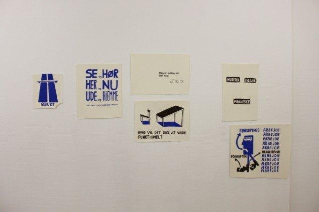 claus ejner, installation fra udstillingen Funktionalitet, foto: claus ejner