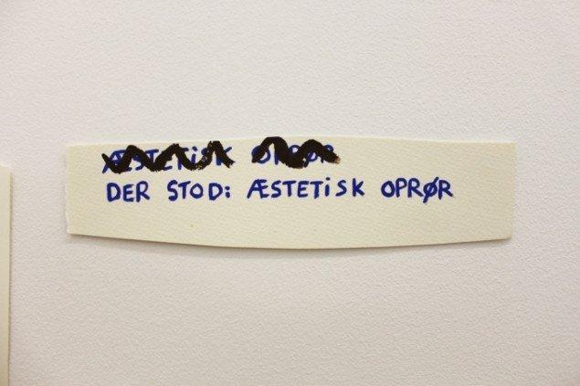 claus ejner, Æstetisk oprør, foto: claus ejner