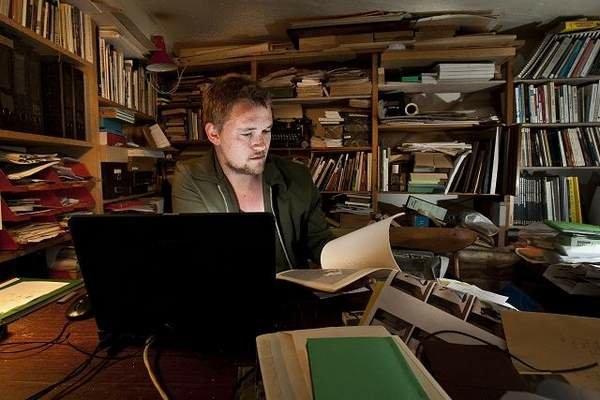 Videnscentrets kunstneriske leder Mathias Kokholm. Foto: Pressefoto