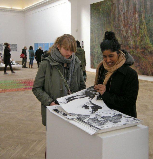 Værkerne på udstillingen gav plads til at man selv kunne udforske dem. Foto: Jan Falk Borup