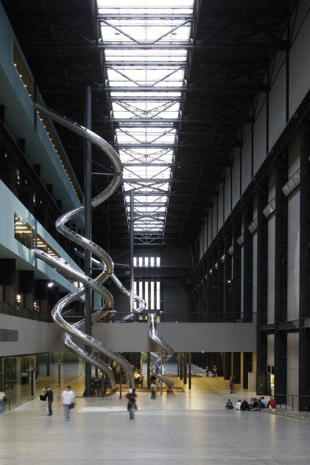 Carsten Höller, Test Site, 2006, Tate Modern. Foto: Attilio Maranzano