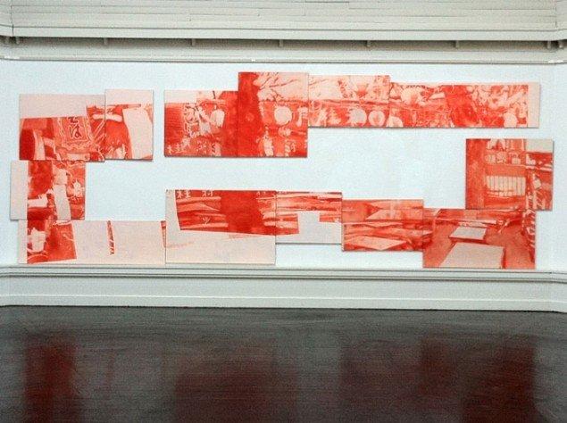 Mette Gitz-Johansen: Observing Pink #16, 2013. (Pressefoto)