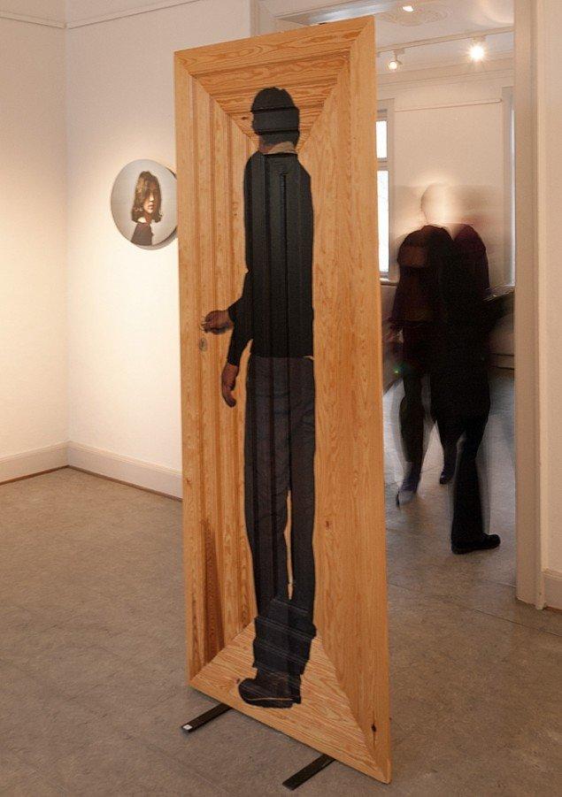 Rosemaria Rex: Det er sandt, at jeg ikke forlader mit hus, udstillingsveiw. Foto: Jerry Jakobsfeld