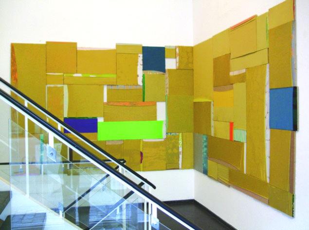 Åben guld, fra udstillingen Hængetræ og tæskebamse, installationview, SPECTA 2009. Foto: Erling Lykke Jeppesen