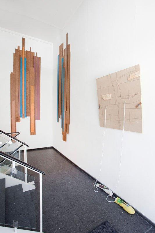 Landskaber - installationsview. Foto: Erling Lykke Jeppesen
