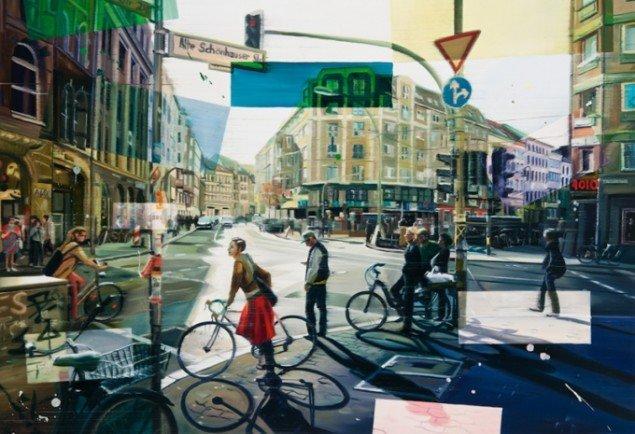 Berin, 100 x 145 cm, olie på lærred, 2012 foto: Kurt Nielsen