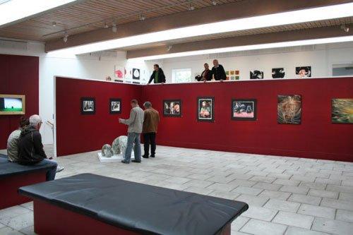 Udstillingsview fra Sct. Olaj udstillingen i Thorshavn
