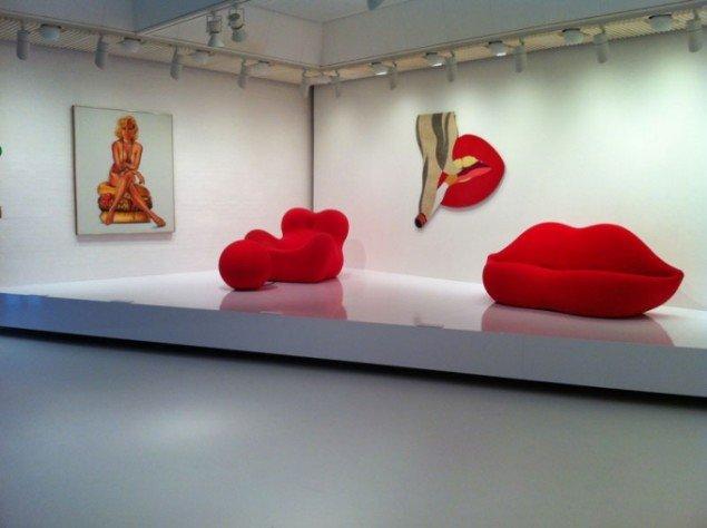 Kvinden som fetisch. Pop Art Design, Installationshot (Foto: Rasmus Vestergaard)