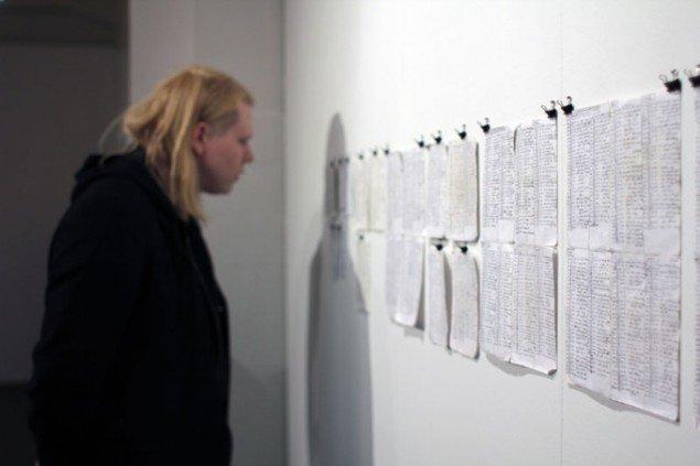 Installationsview, Gretar Reynisson, Decade, The Living Art Museum. (Foto: Maxime Smári Þorleifsson, Grotta Zine / Sequences VI)