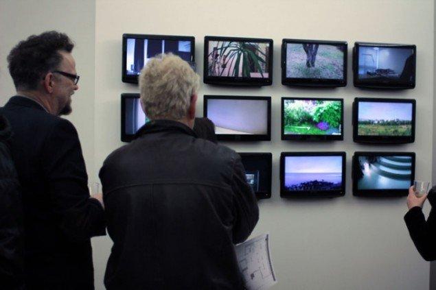 Gretar Reynisson (IS): 365 Circles, one-minute video a day, 2010. (Foto: Maxime Smári Þorleifsson, Grotta Zine / Sequences VI)