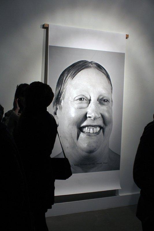 Martha Wilson: I  have become my own worst fear, 2009/1974. (Foto: Maxime Smári Þorleifsson, Grotta Zine / Sequences VI)