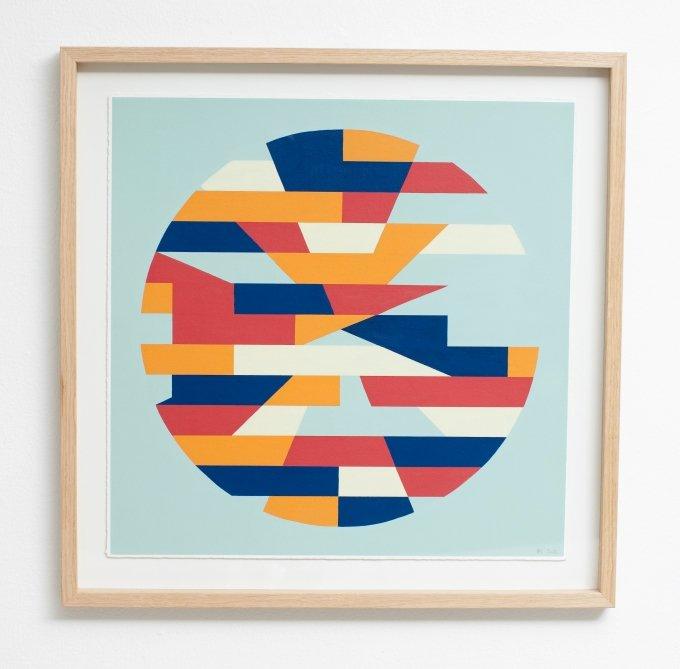 Stringent kunst i douche farver - kunsten.nu
