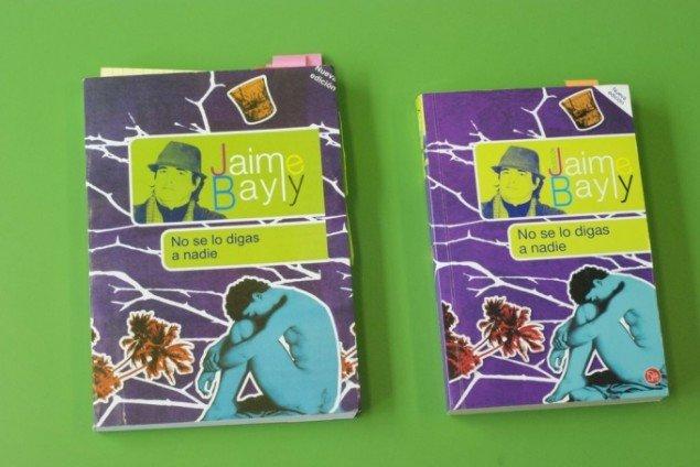 Kopieret og original version af Jaime Baylys roman No se lo digas a nadie. Foto: TPP