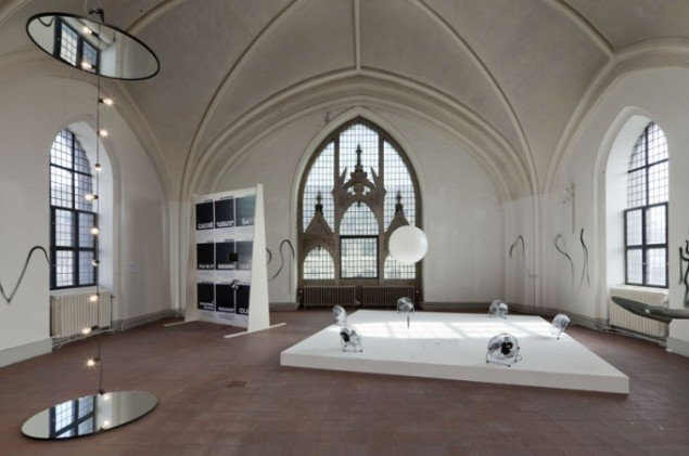 Installationsview, Enten/Eller (Foto: Lea Nielsen9