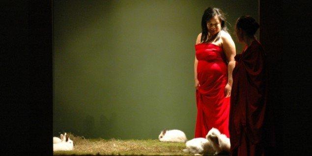 Melati Suryodarmo på Lilith i 2007. Foto: Hanna Johansson