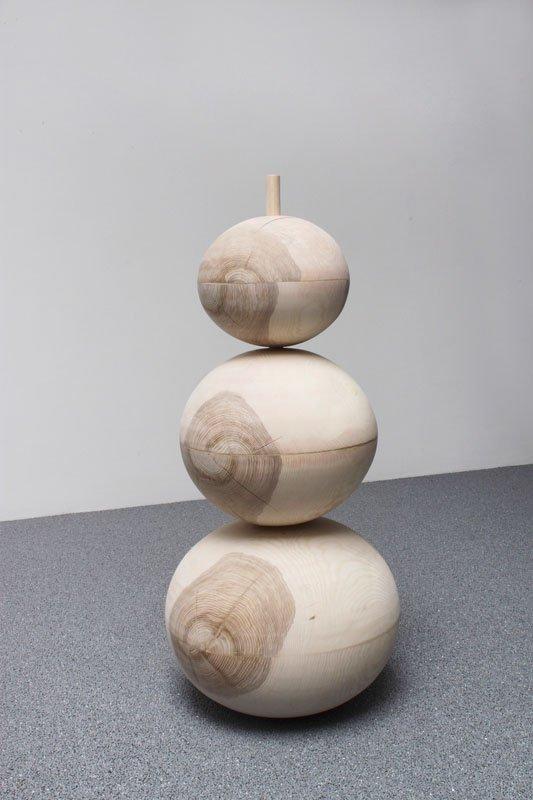 Rikke Ravn Sørensen: Tre i én, 2013. Foto: Skulpturi