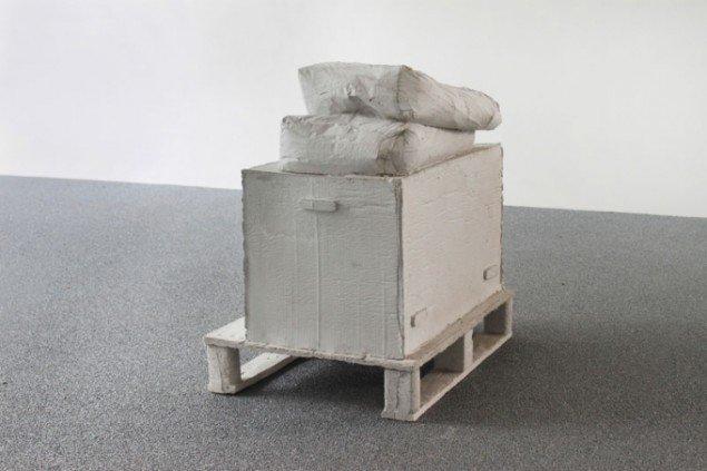 Tina Maria Nielsen: Værk/sted, 2006. Foto: Skulpturi