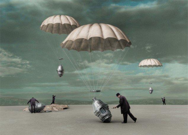 Identity - Alienation 2010, computerskabt billede, 150 x 200 cm, foto: Ole Tersløse