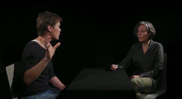 Kunstneren Kerstin Bergendal og etnolog Rikke Johansen Smidt. Foto: Presse