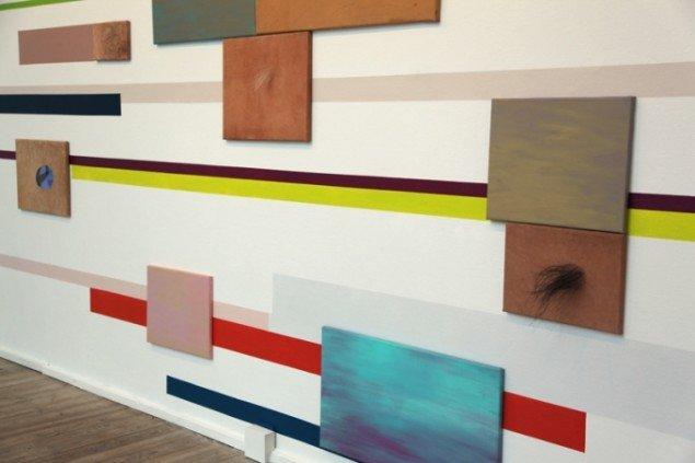 Anne Marie Pedersen: Der er langt fra siena til orange. Foto: Else Ploug Isaksen