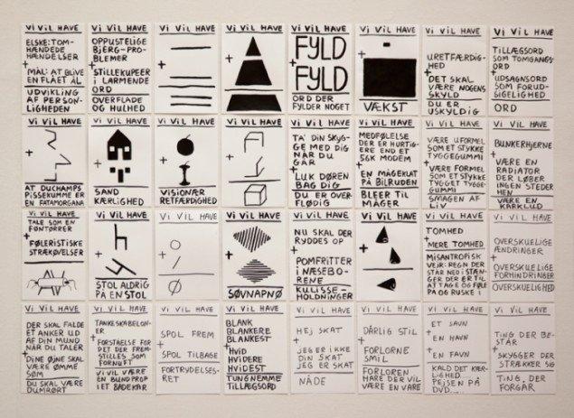 claus ejner: En reference til det at være en rulle malertape. Foto: Else Ploug Isaksen